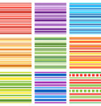 Seamless patterns with fabric texture stripes