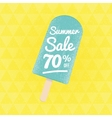 Summer Sale 90 per cent off vector image vector image