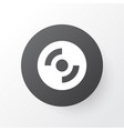 compact disk icon symbol premium quality isolated vector image