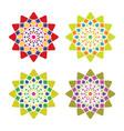 arabic ornament vector image