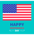 independence day united states america vector image vector image