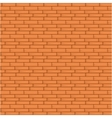 Orange Brick Wall Seamless vector image
