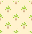 palm or coconut tree seamless pattern for use as vector image