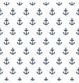 Seamless pattern with nautical anchors