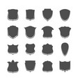 security shield icon collection for web vector image