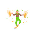 st patricks day banner vector image vector image