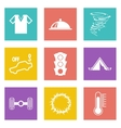 Color icons for Web Design set 43 vector image