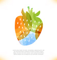 Colourful and artistic icon vector image vector image