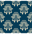 damask background vector image vector image