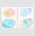 pastel sweet cotton candy multi color gradient vector image vector image