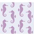 Sea Horse Pattern vector image