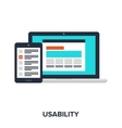 usability evaluation concept vector image