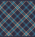 classic tartan merry christmas seamless patterns vector image vector image