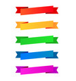 Collection color ribbons