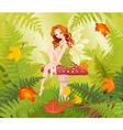 Mushroom Fairy vector image