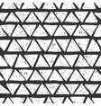 Seamless hand drawn triangles pattern