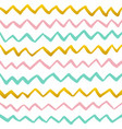 Zig zag paint seamless pattern