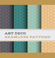 art deco seamless pattern 47 vector image vector image
