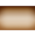 Brown Gradient Background vector image vector image