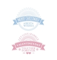 Classic vintage badge vector image vector image