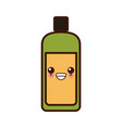 container bottle isolated kawaii cute cartoon vector image