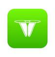 modern bikini icon green vector image vector image