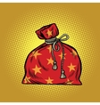 Bag of Santa Claus Christmas and New year vector image vector image