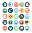 Business and SEO Icons 2 vector image vector image