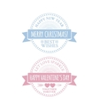 Classic vintage badge vector image