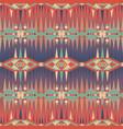 ethnic print aztec navajo seamless pattern vector image vector image