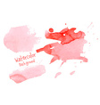 Hand paint watercolor abstract background vector image vector image