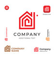 House construction modern logo building business