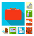 pharmacy and hospital icon vector image vector image