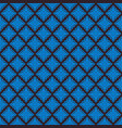 seamless line thai blue pattern arts vector image