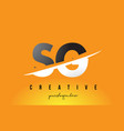 sg s g letter modern logo design with yellow vector image vector image