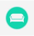 sofa icon sign symbol vector image vector image