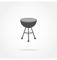 BBQ Grill icon vector image vector image