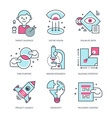 Create Brand Icons vector image vector image