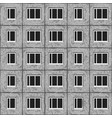 Soviet architecture grey unified house pattern