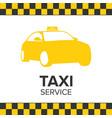taxi icon taxi service taxi car white background vector image