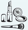 Various Cosmetics vector image