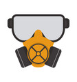 construction dust mask vector image