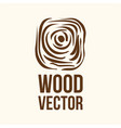 hand drawn sketch of abstract wood texture vector image vector image