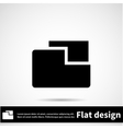 Icon flat design vector image vector image
