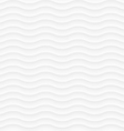 White seamless pattern of abstract waves vector image vector image