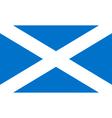 flag scotland vector image vector image