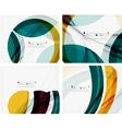 Green and yellow color elegant abstraction For vector image