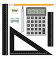 math tools vector image