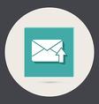 postal envelope vector image