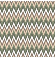 seamless chevron pattern cute green and brawn vector image vector image